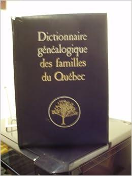 Dictionnaire Genealogique des Familles Canadiennes par MGR Tanguay Vol. 1- Vol 7