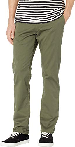 RVCA Men's Weekend Stretch Chino Pant, Olive 36