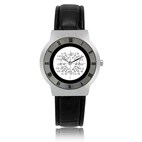 Gifts Wristwatches Leather Band Usfssl467 Math Unit Circle Algebra Geometry Custom Y