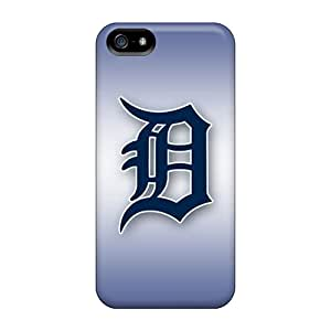 Tpu Case Cover For Iphone 5/5s Strong Protect Case - Detroit Tigers Design