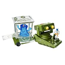 Monsters vs Aliens Mini Figure Play Set Army Jeep and BOB Container by Vivid Imaginations