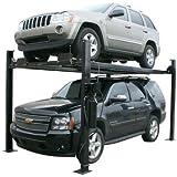 Atlas Garage Pro 8000 EXT Portable Hobbyist 8,000 Lbs. Capacity 4 Post Lift (EXTRA TALL)