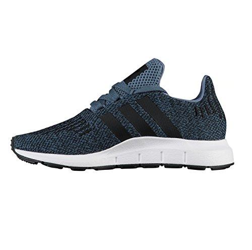 adidas Swift Run C, Zapatillas de Gimnasia Unisex Niños Azul (Acenat / Negbás / Negbás 000)