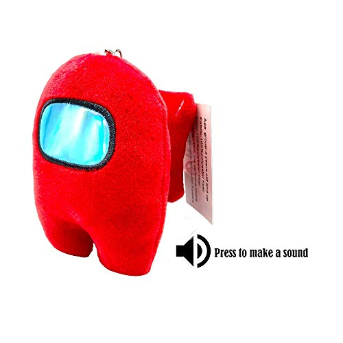 4pcs A NUENUN Among Us Game Plush Stuff Animal Plushies Toys Plush Gifts for Game Fans