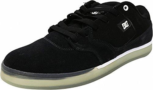 DC Cole Lite S SE - Zapatillas de skateboarding de ante para hombre negro negro blanco y negro