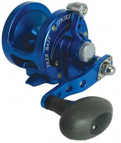 Avet Trolling Reel (Avet MXJ5.8B 5.8:1 Lever Drag Conventional Reel, Blue, 300 yd/20 lb)