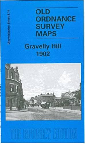 Old Ordnance Survey Detailed Map Gravelly Hill Warwickshire 1902  S8.14 New Map