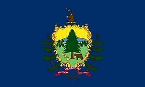 Heath Outdoor 58047 5-Feet by 8-Feet Vermont Flag