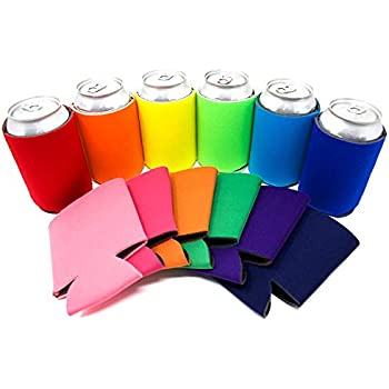 Neoprene Insulated Beer Can Cooler Sleeve Holder Wedding Party Favor Gary