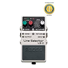 Boss LS-2 Line Selector Pedal with 1 Year Free Extended Warranty