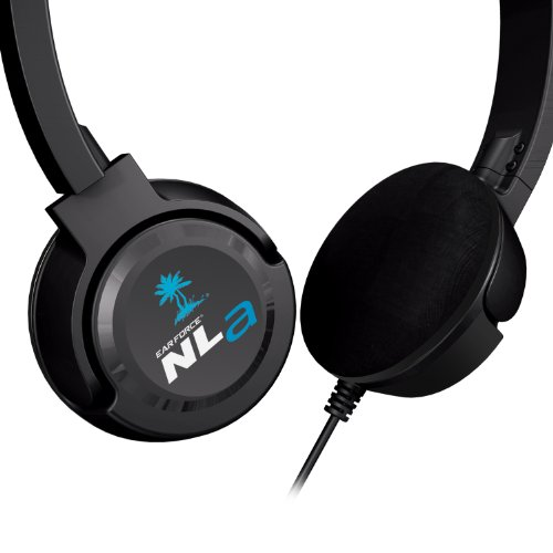 Turtle Beach Ear Force NLa Gaming Headset - Black - Nintendo Wii U