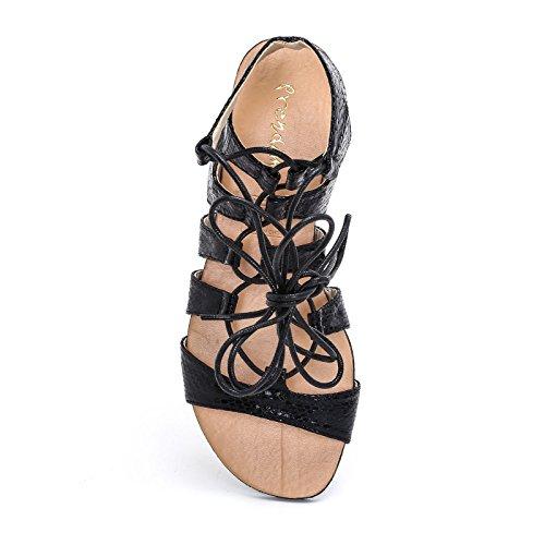 Sandali Donna Prendimi Bassi Scarpe amp;scarpe Black xw7rvE7qI