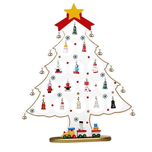(Pendant & Drop Ornaments - Christmas Tree Snowman Bell Train With Desk Mini Table Ornament Decoration Shop Window Decorative Or - Christmas Model Railway Plastic Kid Train Christmas Scale)