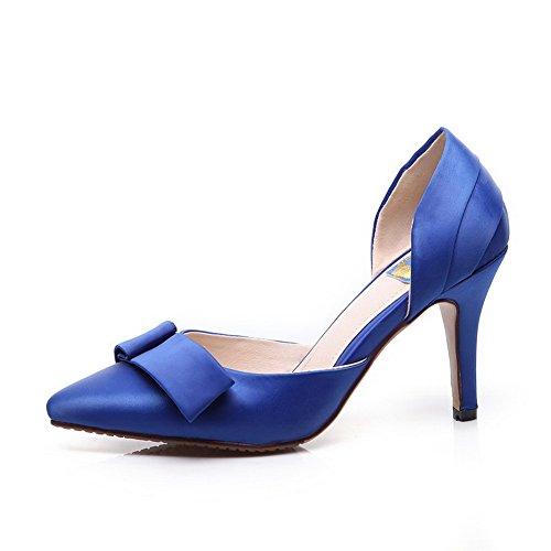 1to9 Damer Solid Europeisk Stil Mykt Materiale Pumper-sko Blå