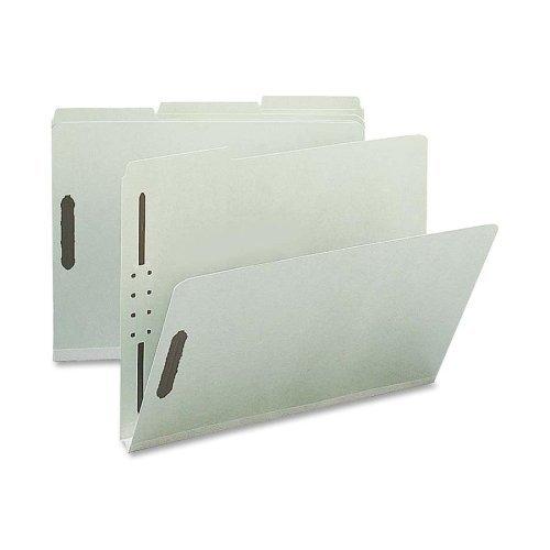 Pressboard Fastener Folder, 25 Pt, 1/3 Tab, Letter, 25 per Box Expansion Size: 1, Format: Letter by Sparco
