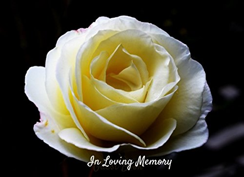 In Loving Memory: Guest Book for Family and Friends to write in 90 lined pages 8.25x6in (Condolence Register)