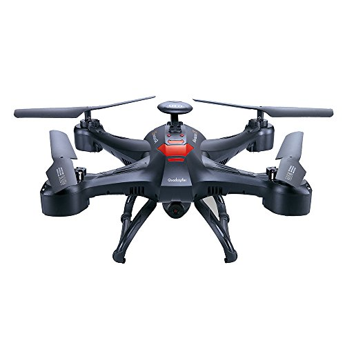 PowerLead Pqad D015 Wifi Camera Drone First Person View Camera Video Drone With Video 6 Axis Gyro Explorer UFO with 2MP LCD Remote Control With HD Camera