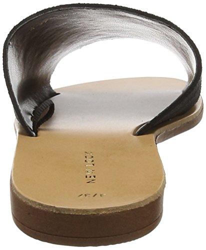 New Look Women's Fidant Open Toe Sandals Black (Black 1) iXVu9pzx