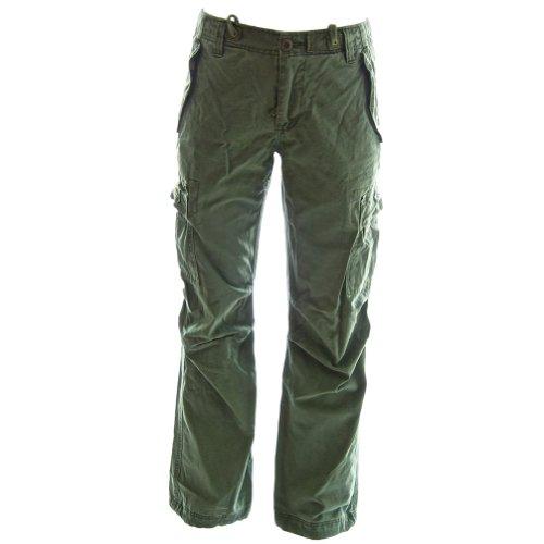 Molecule Rope-Belted Backpackers Cargo Pants 45038 - 100%...