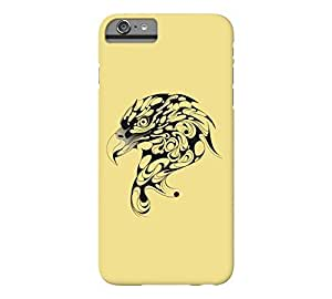 BALD EAGLE iPhone 6 Plus Flax Barely There Phone Case - Design By Humans