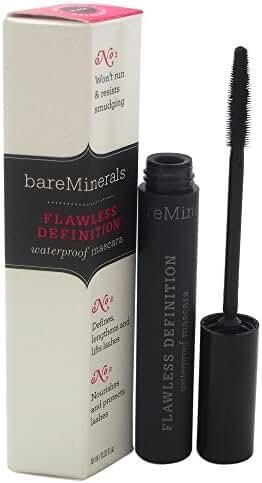 bareMinerals Flawless Definition Waterproof Mascara, Black, 0.33 Fluid Ounce