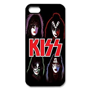 Cool iphone 5 5S Back Case Cover Protector- Music Band KISS-05
