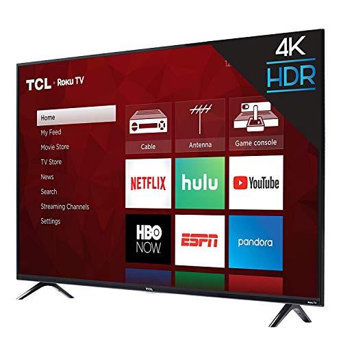 TCL 43S423 43 Inch 4K Ultra HD Smart Roku LED TV (2018) (Renewed)