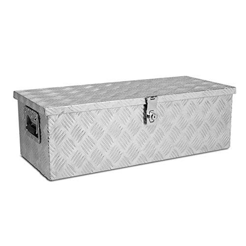 """Aluminum Pickup Truck 30"""" Flat Bed Tool Box Rv Camp Trail..."""