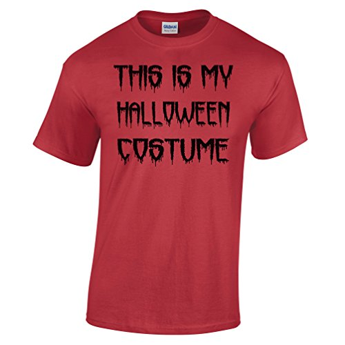 [This Is My Halloween Costume Joke T Shirt Funny Spooky Scary Trick Treat Dad Mom] (Silly Halloween Costume Ideas)
