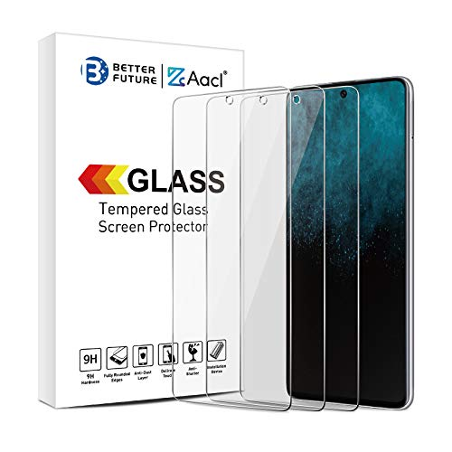 Glass Screen Protector for Samsung Galaxy A51 4G 2019,6.5 Inch 3 Pack,Tempered Glass Film,Ultra Clear