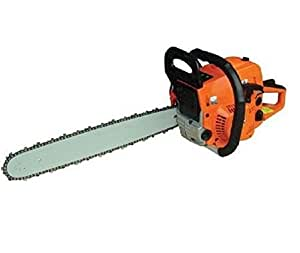"22"" Bar Gas Chainsaw Chain Saw 52cc Engine with Aluminum Crankcase Gasoline Powered"