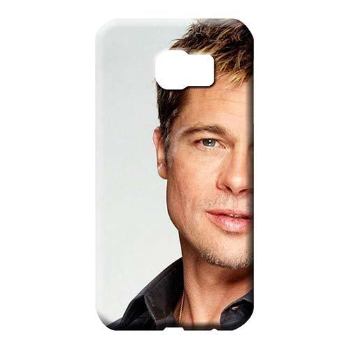 Cell Phone Shells Brad Pitt Fashionable Dirtshock Pattern Samsung Galaxy S6 Edge