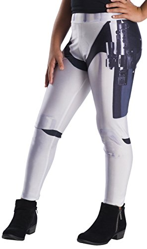 Rubie's Costume Co Girlsstarwarsleggings, Stormtrooper, Onesize