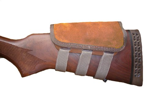 ITC Rifle Cheek Pad/Cheek Riser/CheekRest Marksmanship/Brown Suede from ITC