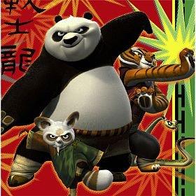 Kung Fu Panda '2' Large Napkins (Kung Fu Master Child Costumes)