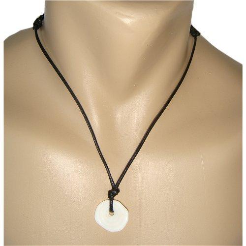 Hawaiian Jewelry Rare Single Puka Shell Necklace