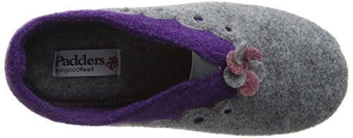 Padders 97 combi Hannah Femme Blues Gris Grey Chaussons 6wW6FrSygq
