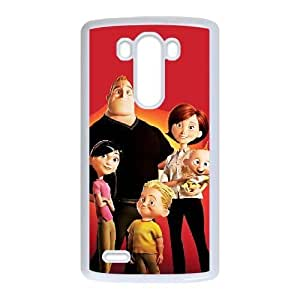 LG G3 phone cases White The Incredibles cell phone cases Beautiful gifts YWLS0481303