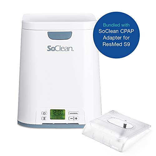 (SoClean 2 + ResMed S9 Adapter (SoClean 2 CPAP Cleaner and Sanitizer Bundle with Free Adapter))