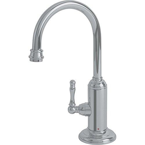 Franke LB12180 Farm House Little Butler Single Handle Under Sink Hot Water Filtration Faucet, Satin Nickel ()