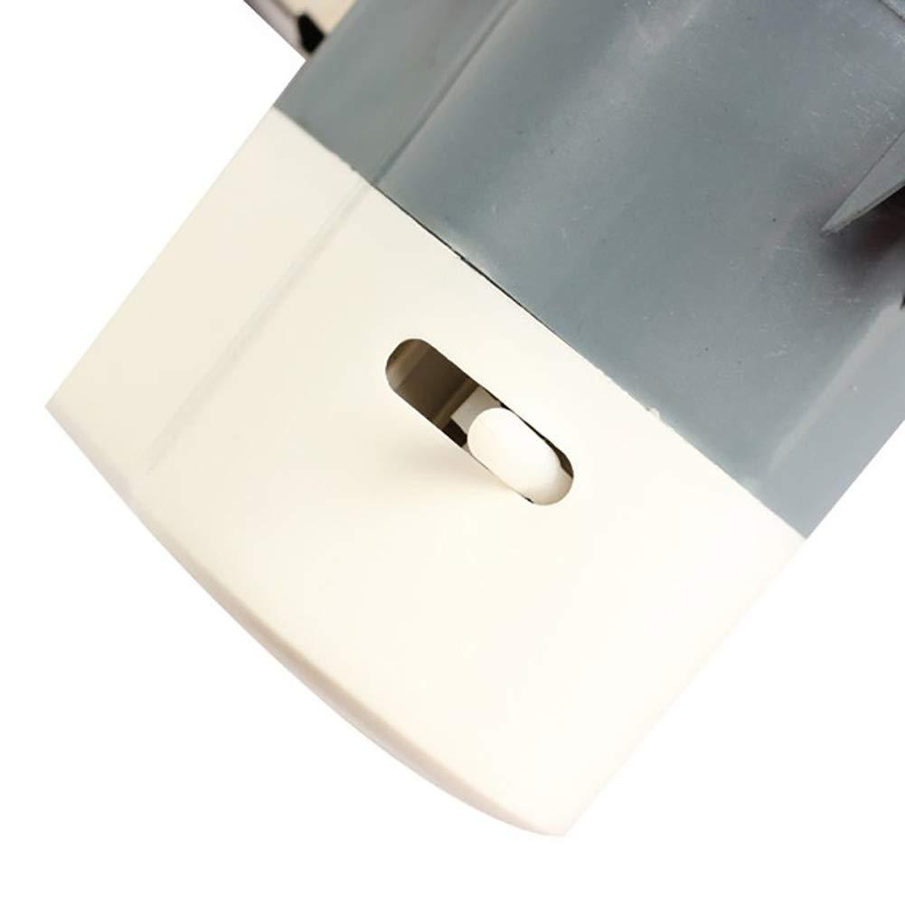 12//24 V zmigrapddn Mini Ventilatore Estivo per Auto Girevole Ventola di Raffreddamento con Clip a Basso Rumore