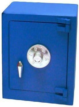 Interfer Caja caudales Combinacion Hucha Mini, Colores surtidos (Azul, Rojo o Gris): Amazon.es: Bricolaje y herramientas