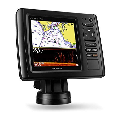 Garmin 100179901 Echomap Chirp 54CV, US Coastal with XDCR
