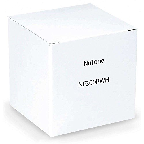 NuTone NF300PWH Outdoor Remote Station Retrofit Frame - White Nutone Intercom