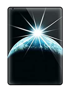 New MqWVJWv11682FEidU Space Diamond Earth Eclipse Skin Case Cover Shatterproof Case For Ipad Air