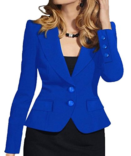 Wear Blue Blazer - 6
