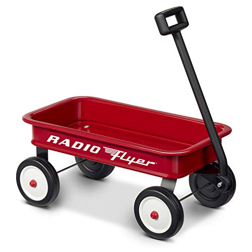 "Radio Flyer 16.5"" Retro Toy Wagon (Amazon Exclusive) , Red"