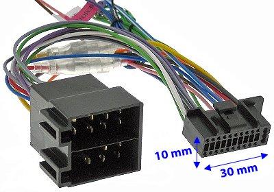 KENWOOD DNX DDX Radioadapter Radioadapter 22Pin Stecker: Amazon.de ...