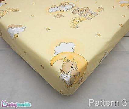 Nursery bébé coton drap housse 90x40 cm lit assorti literie motif//design