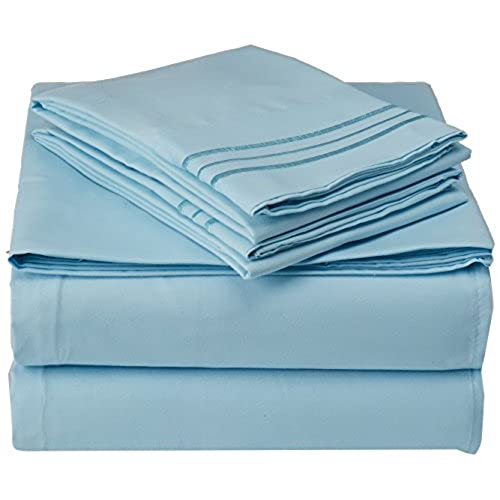Celine Linen Best, Softest, Coziest Bed Sheets Ever! 1800 Thread Count  Egyptian Quality Wrinkle Resistant 4 Piece Sheet Set With Deep Pockets 100%  ...